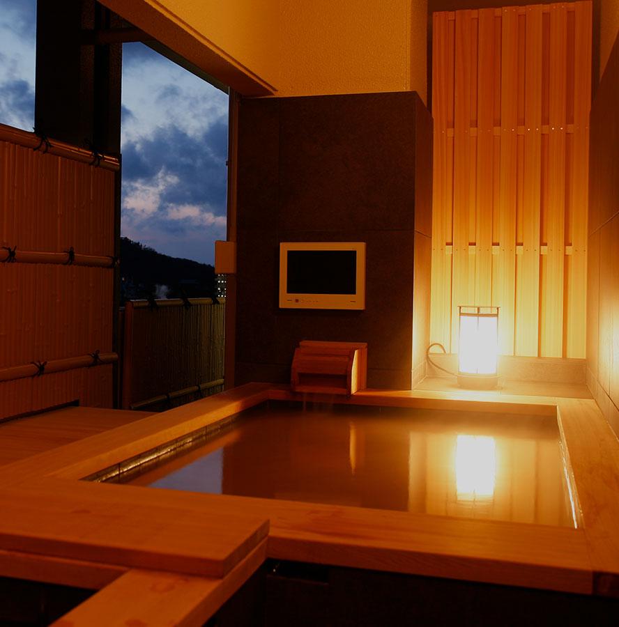 画像:露天風呂付客室